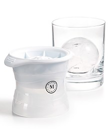 Martha Stewart Collection 2-Pc. Sphere Ice Mold Set, Created for Macy's