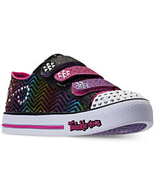 Skechers Little Girls' Twinkle Toes: Step Up - Sparkle Spice Casual Sneakers from Finish Line