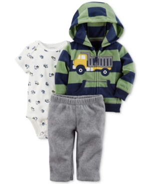 Carter's 3-Pc. Striped...