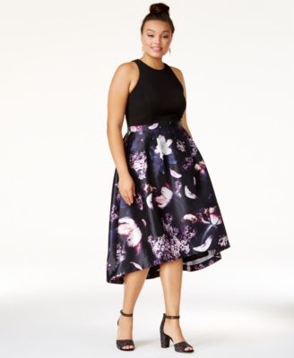 High low dresses for plus size