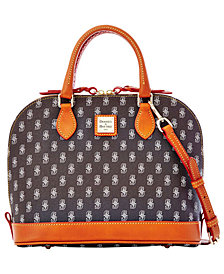 Dooney & Bourke Seattle Mariners Zip Zip Satchel