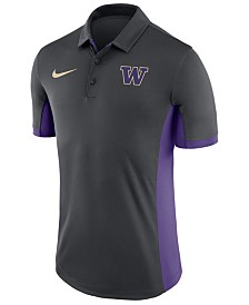 Nike Men's Washington Huskies Evergreen Polo
