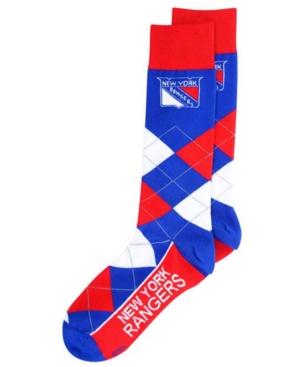 New York Rangers Argyle Dress Socks