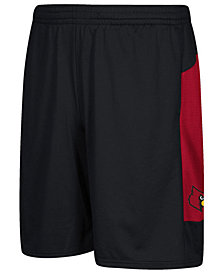 adidas Men's Louisville Cardinals Sideline Shorts