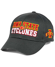 Top of the World Iowa State Cyclones Charcoal Teamwork Snapback Cap