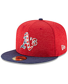 New Era Oakland Athletics Authentic Collection Stars & Stripes 59FIFTY Cap