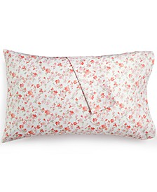 Printed Standard Pillowcase Pair, 400 Thread Count 100% Cotton Percale, Created for Macy's