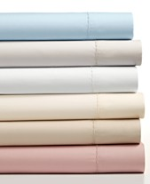 Closeout Martha Collection 4 Pc Solid Sheet Sets 400 Thread Count 100