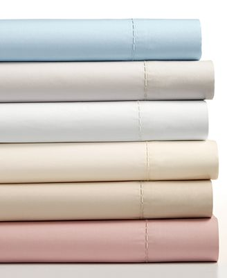 Martha Stewart Collection 4 Pc Solid Sheet Sets 400 Thread Count