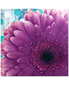 Mi Zone Vibrant Violet Gel-Coated Canvas Print