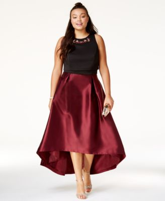 formal plus size dresses - macy's