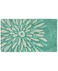 "Flower Power Cotton 20"" x 30"" Accent Rug"