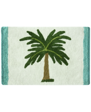 Bacova Palm Tree Cotton 20 x 30 Accent Rug Bedding