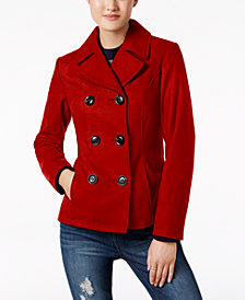 Celebrity Pink Juniors' Peacoat