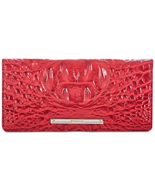 Ady Leather Wallet in Carnation, Created for Macy's
