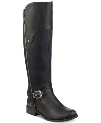Image of G by GUESS Harson Wide-Calf Tall Riding Boots