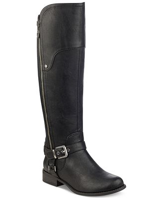G By Guess Harson Tall Riding Boots Reviews Boots Shoes Macys
