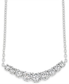 Diamond Classic Collar Necklace (1/2 ct. t.w.) in 14k White Gold