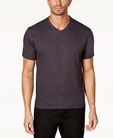 Tasso Elba Men's Reverse Jacquard T-Shirt, Created for Macy's