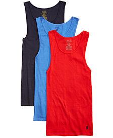 Polo Ralph Lauren Men's 3-Pk. Cotton Jersey Tank Tops