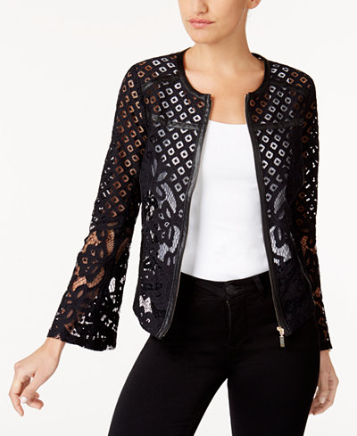 Thalia Sodi Lace Blazer, Created for Macy's