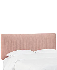 Layla California King Pleated Headboard, Quick Ship