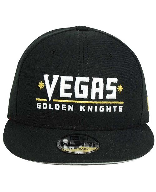e6e2218c608 New Era Vegas Golden Knights All Day 9FIFTY Snapback Cap - Sports ...