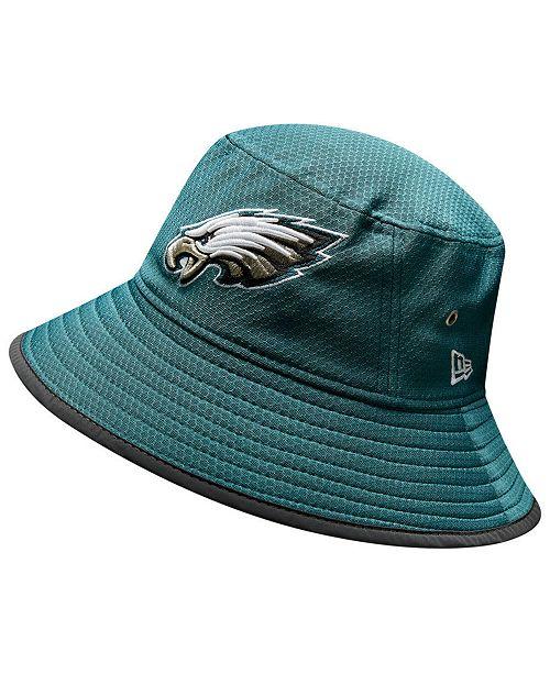 New Era Philadelphia Eagles Training Bucket Hat - Sports Fan Shop By ... 02c55c4b88b1
