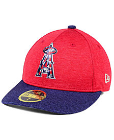 New Era Los Angeles Angels of Anaheim Low Profile Stars & Stripes 59FIFTY Cap