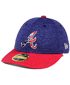 New Era Atlanta Braves Low Profile Stars & Stripes 59FIFTY Cap