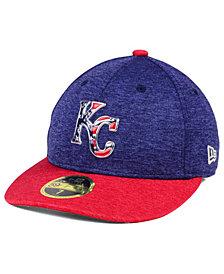 New Era Kansas City Royals Low Profile Stars & Stripes 59FIFTY Cap