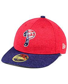 New Era Philadelphia Phillies Low Profile Stars & Stripes 59FIFTY Cap