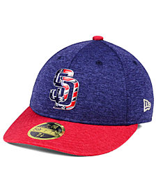 New Era San Diego Padres Low Profile Stars & Stripes 59FIFTY Cap