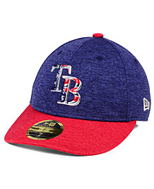 New Era Tampa Bay Rays Low Profile Stars & Stripes 59FIFTY Cap