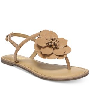 Carlos by Carlos Santana Adalyn Flower Flat Sandals Women