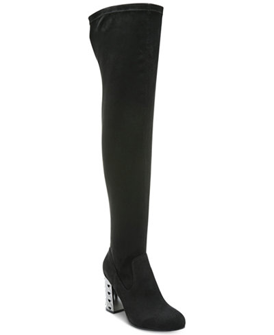 Carlos by Carlos Santana Quantum Wide-Calf Over-The-Knee Boots