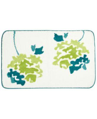 """Botanical Garden 21"""" x 34"""" Cotton Bath Rug"""