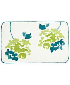 """bluebellgray Botanical Garden 21"""" x 34"""" Cotton Bath Rug"""