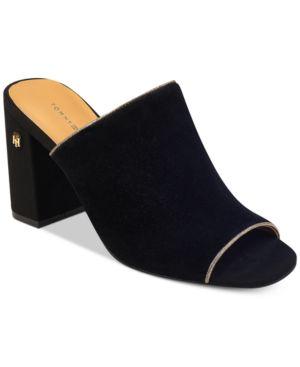 Tommy Hilfiger Sayna Slide Dress Sandals Women
