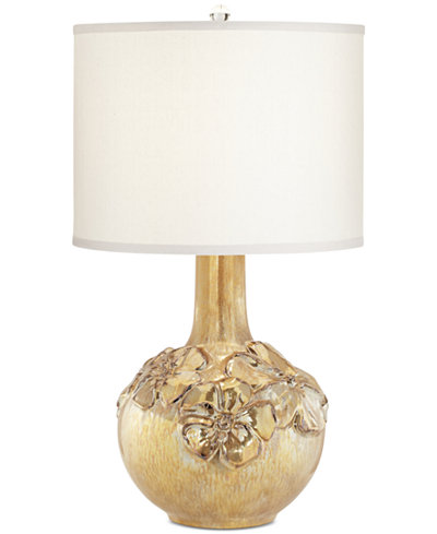 Pacific Coast Poppy Fl Vase Table Lamp