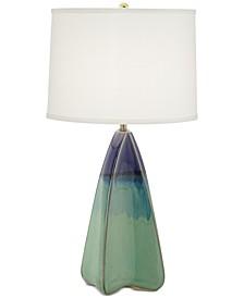 Hypnotic Pyramid Table Lamp