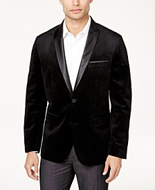 I.N.C. Men's Big & Tall  Mason Slim-Fit Velvet Blazer, Created for Macy's
