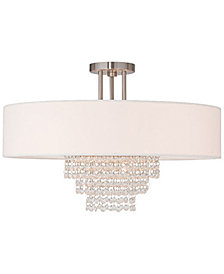 Livex Carlisle Semi Flush Light
