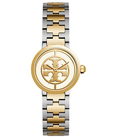 Tory Burch Women's Reva Two-Tone Stainless Steel Bracelet Watch 28mm