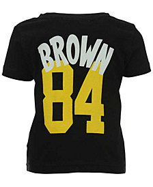 Outerstuff Antonio Brown Pittsburgh Steelers Whirlwind Player T-Shirt, Infant Boys (12-24 months)