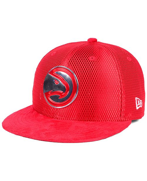 low priced 70fc0 d41d4 New Era Atlanta Hawks On-Court Collection Draft 59FIFTY Fitted Cap ...