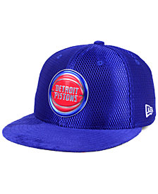 New Era Detroit Pistons On-Court Collection Draft 59FIFTY Fitted Cap