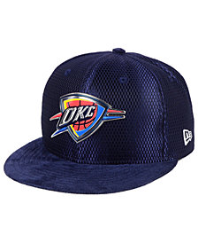 New Era Oklahoma City Thunder On-Court Collection Draft 59FIFTY Fitted Cap