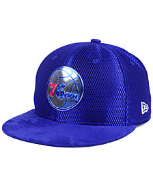 New Era Philadelphia 76ers On-Court Collection Draft 59FIFTY Fitted Cap
