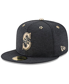 New Era Boys' Seattle Mariners 2017 All Star Game Patch 59FIFTY Fitted Cap